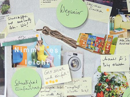 Collage und Textsammlung rund um eine Nutzerin
