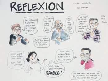 Moderation World Café: Reflexion